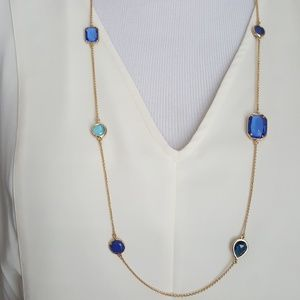 New kate spade Color Crush Station Necklace